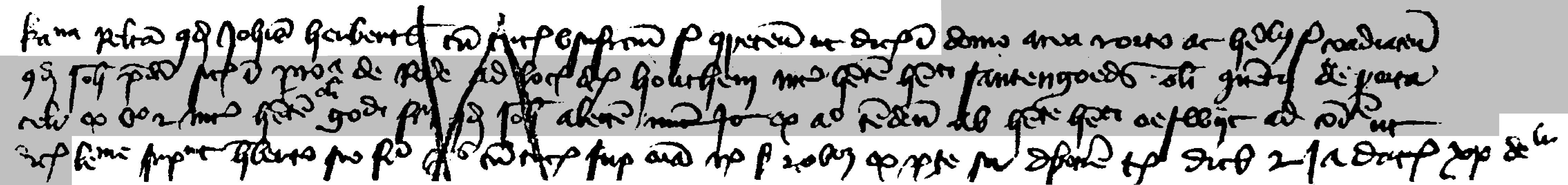 akte uit 1425 mbt Henrick Santengoeds