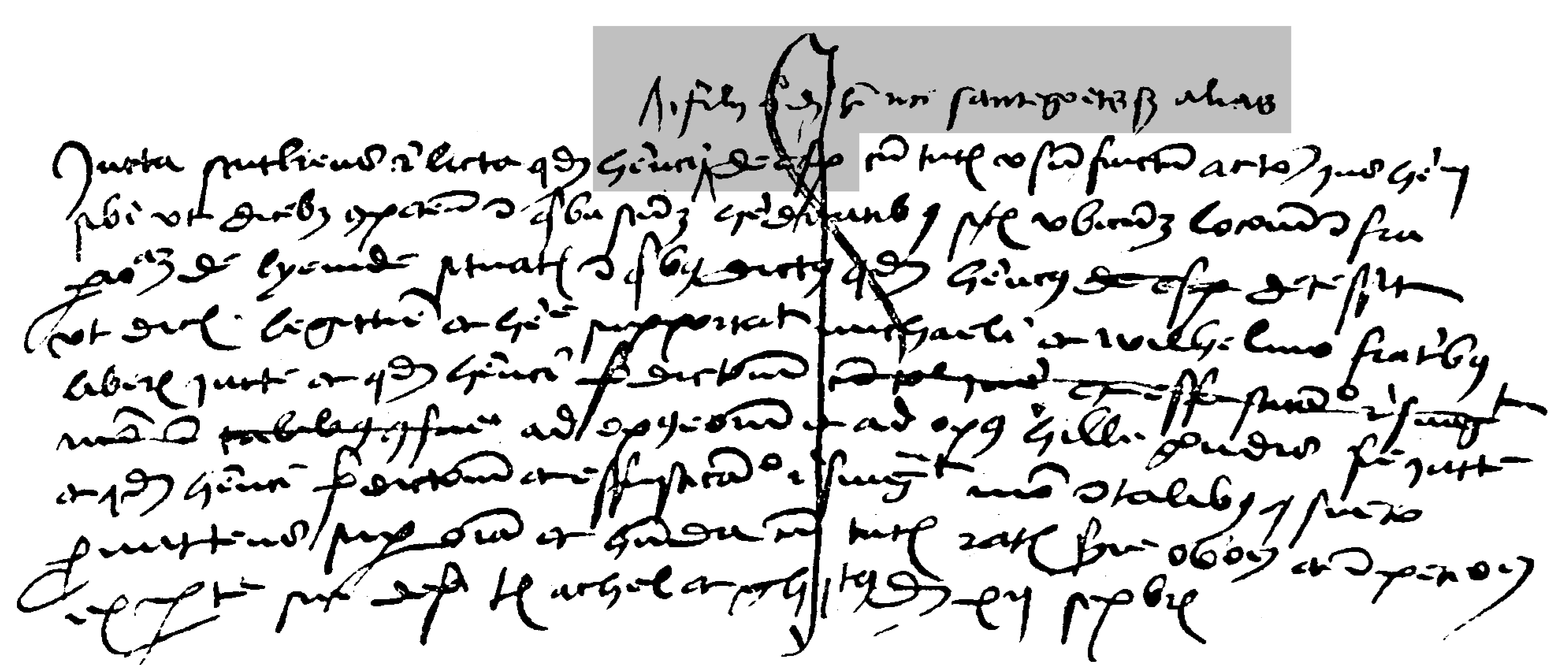 akte uit 1498