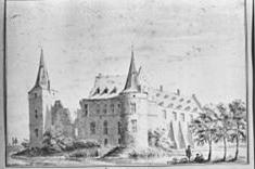 Kasteel Daelenbroek rond 1738